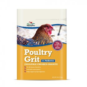 Poultry Grit with ProBiotics, 5lb bag