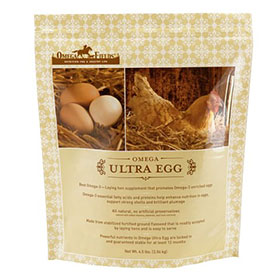 Omega Ultra Egg Supplement, 4.5 pounds