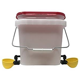 2 Gallon Automatic Cup Drinker (for chicks and adults!)