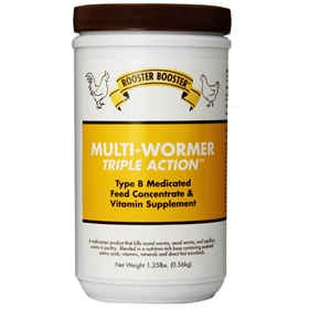 Triple Action Multi-Wormer, 20 oz