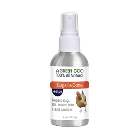Bugs Be Gone Poultry Bug Repellent, 4.5 oz