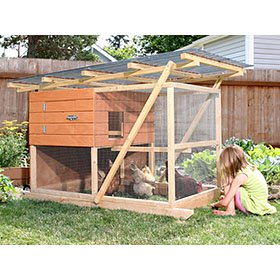 Garden Ark Building Plans (up to 4 chickens)