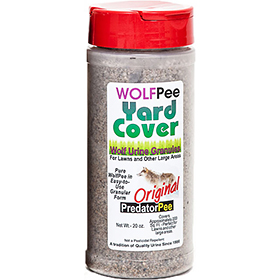 Wolf Pee Granules-Repels foxes, coyote, deer