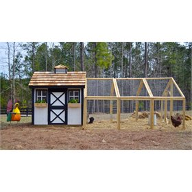 Wyandotte Chicken Coop (up to 12 chickens)