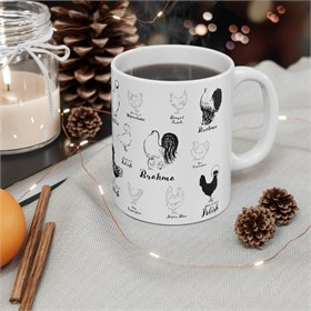 Chicken Breeds Mug