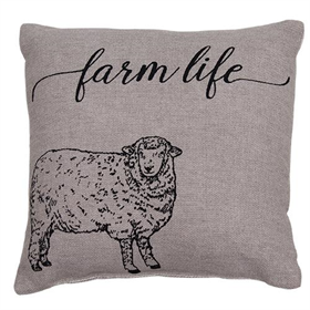 Farm Life Farmhouse Decor Pillow