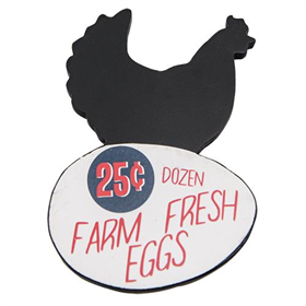 Farm Fresh Rooster Magnet