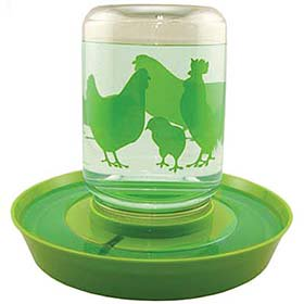 Lixit Chicken Food/Water Fount (2 sizes)