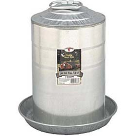 Galvanized Waterer - 5 Gallon