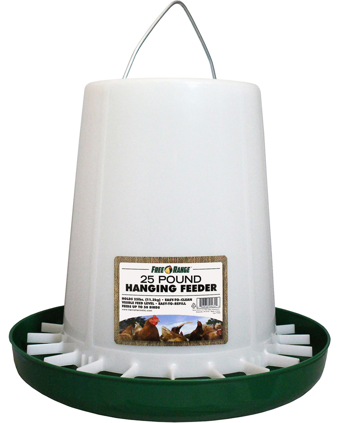 basic chicken feeder