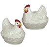 Hen in Basket Salt & Pepper Shakers