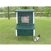 Fiberglass 5' x 4' Coop (Up to 10 Chickens)