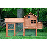 The Clubhouse Coop with Run (up to 4 chickens)