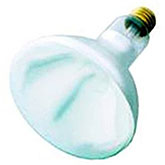Infrared Heat Lamp Bulb, White