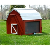 MiniBarn Mobile Chicken Tractor Plans