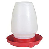Plastic Waterer, 1 gallon