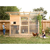 Garden Coop Building Plans (up to 8 chickens)