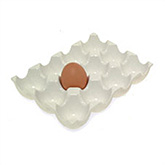 Ceramic Egg Rack - 12 eggs