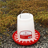 Plastic Hanging Poultry Feeder, 3 sizes