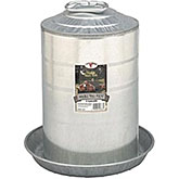 Galvanized Waterer - 2 Gallon